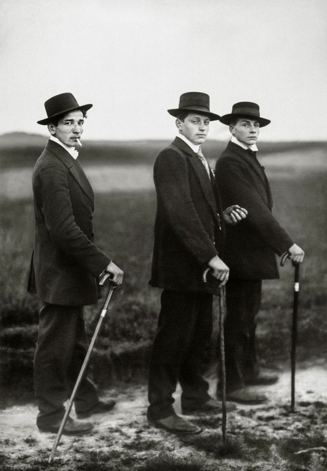 August Sander (German, 1876-1964) 'Jungbauern' (Young Farmers) 1914