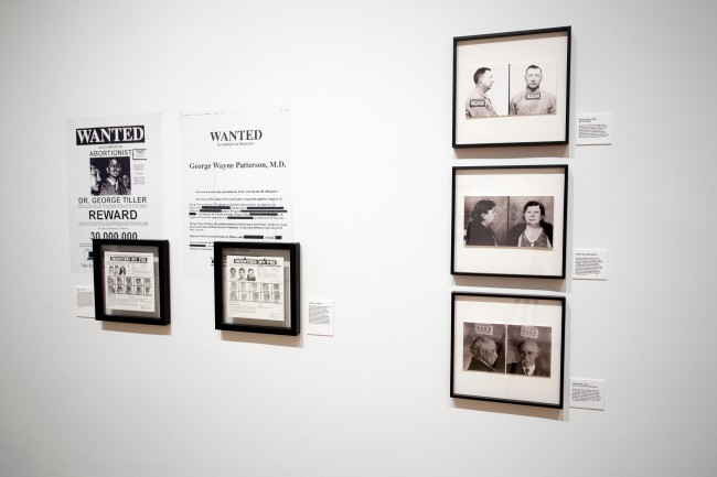 Installation view of the exhibition 'Reproductive: Health, Fertility, Agency' at the Museum of Contemporary Photography
