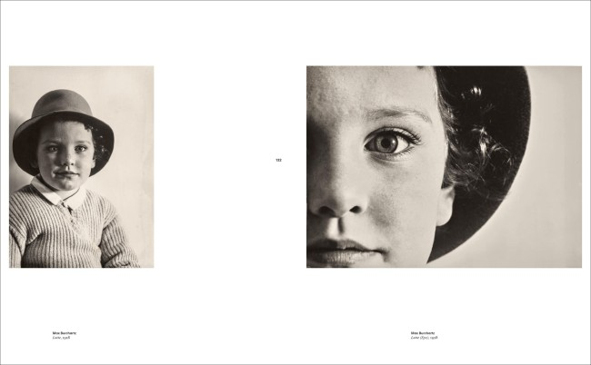 Two pages from the book 'Faces. The Power of the Human Visage'