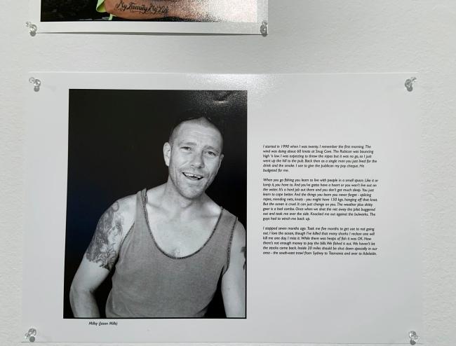 Ruth Maddison (Australian, b. 1945) 'Millsy (Jason Mills)' 2000-2002 (installation view)