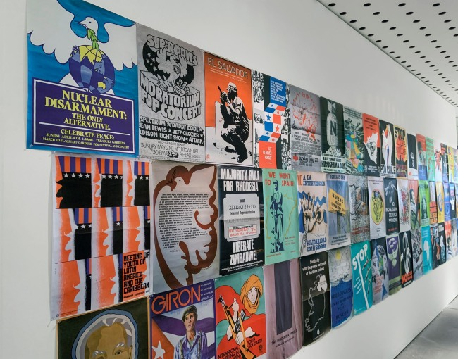 Fifty-one selected posters, from the Samuel Goldbloom Collection, Melbourne University Archives, pigment prints