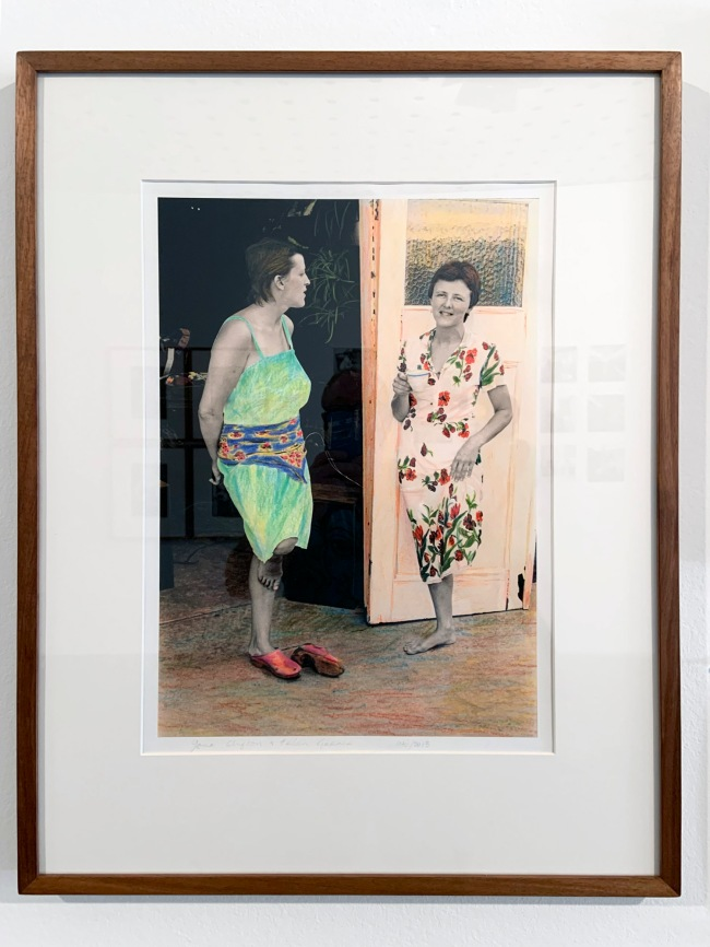 Ruth Maddison (Australian, b. 1945) 'Jane Clifton and Helen Garner' 1976-2013 (installation view)