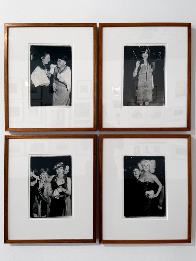 Ruth Maddison (Australian, b. 1945) 'Women's Dance, St Kilda Hall' 1985, printed 2014 (installation view)