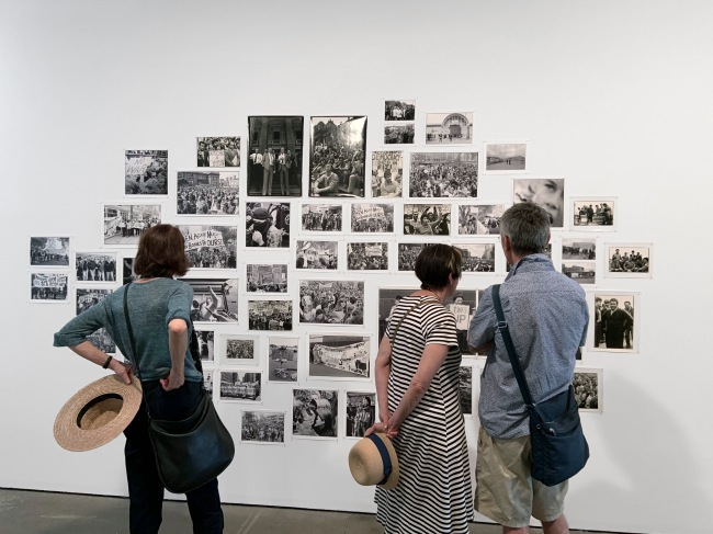 Installation view of the exhibition 'Ruth Maddison It was the best of times, it was the worst of times' at the Centre for Contemporary Photography, Melbourne