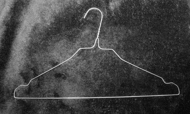 Laia Abril(Spanish, b. 1986) 'Coat Hanger' Nd