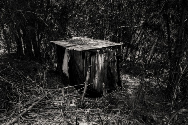 Laia Abril. 'The latrine where Manuela had her miscarriage' Nd