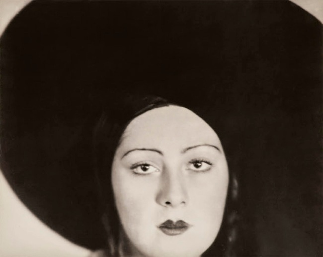 Lotte Jacobi (American, 1896-1990) 'Head of the Dancer Niura Norskaya' 1929