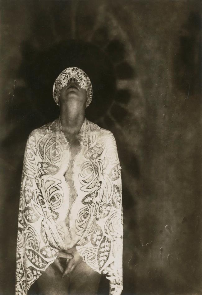 Marta Astfalck-Vietz (German, 1901-1994) 'Ohne Titel (Marta Vietz, Akt mit Spitze)' c. 1927