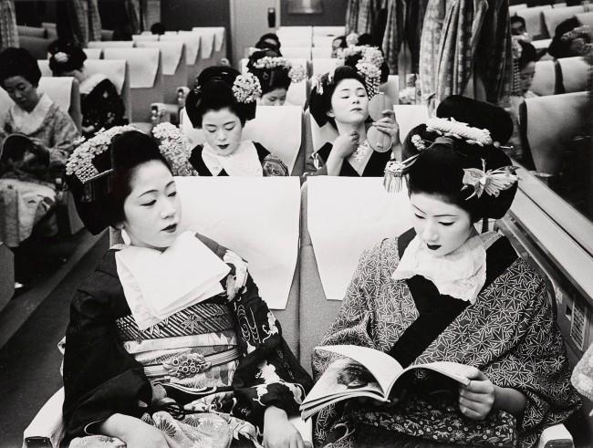 Timm Rautert. 'Tokaido Express, Tokyo' 1970