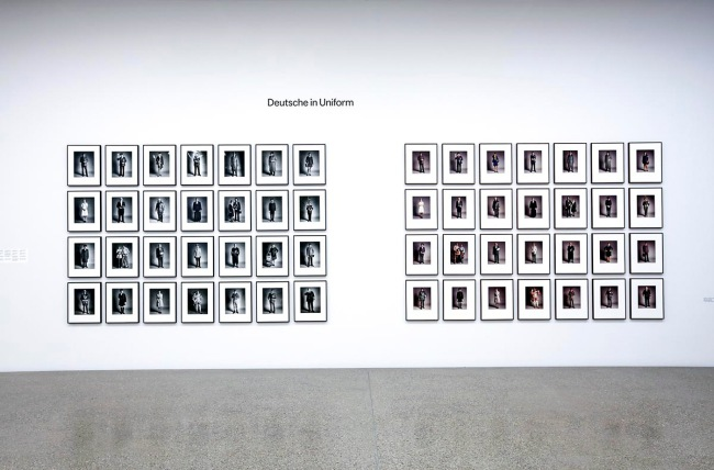Installation view of the exhibition 'Timm Rautert and the Lives of Photography' at Museum Folkwang, Essen