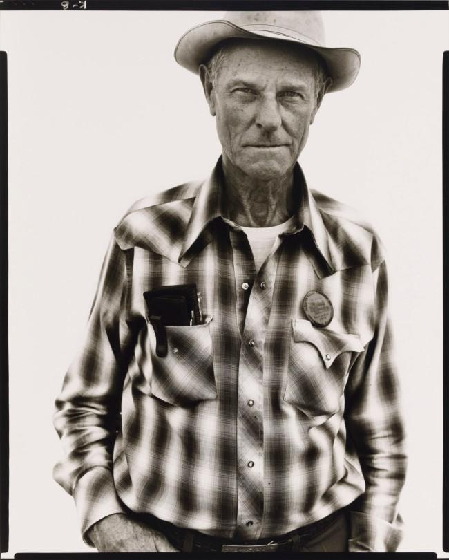 Richard Avedon (1923-2004) 'Clyde Corley, Rancher, Belgrade, Montana, 8/26/79' 1979