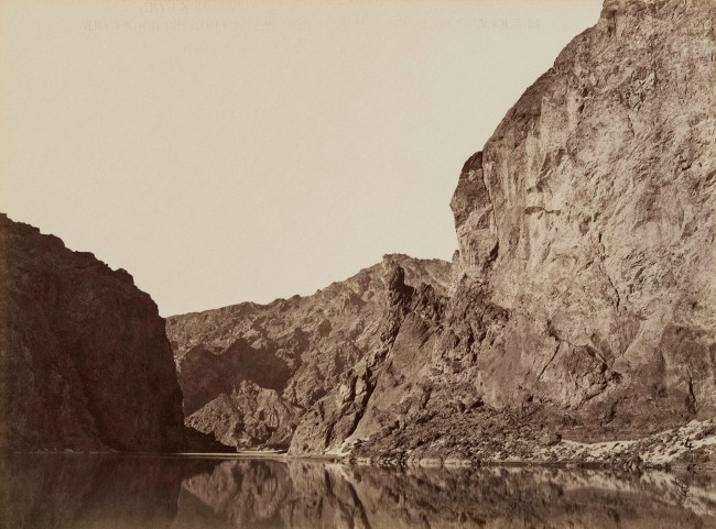 Timothy H. O'Sullivan (1840-1882) 'Entrance to Black Cañon, Colorado River, from Above' 1871