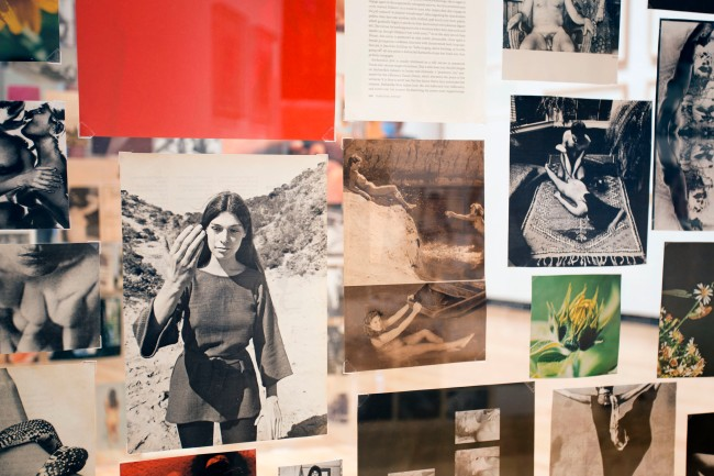 Carmen Winant. 'A History of My Pleasure' 2019-20 (installation view)