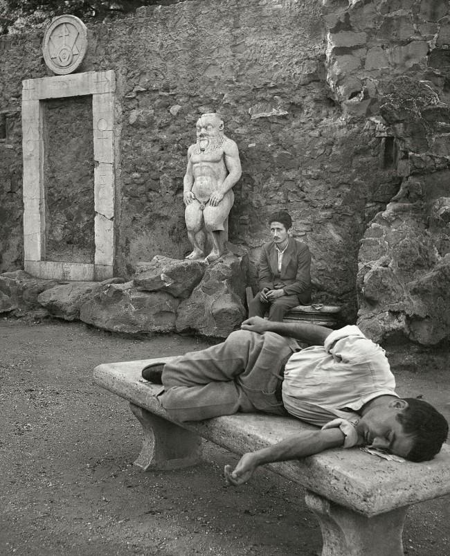Herbert List (German, 1903-1975) 'The Enchanted – At the Villa Magica, Rome Italy' 1949