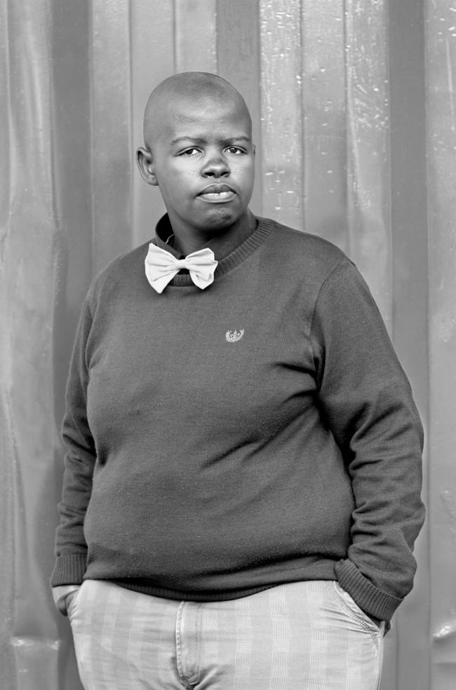 Zanele Muholi. 'Lungile Cleo Dladla, KwaThema, Community Hall, Springs, Johannesburg' 2011