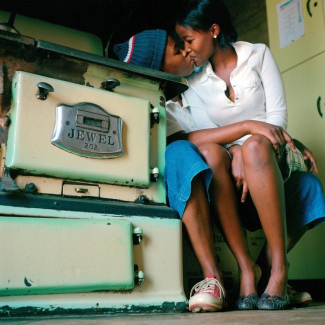 Zanele Muholi (South African, b. 1972) 'Katlego Mashiloane and Nosipho Lavuta, Ext. 2, Lakeside, Johannesburg' 2007