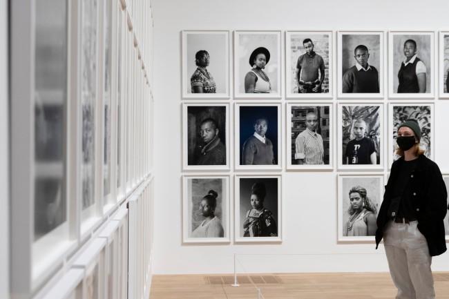 Installation Photograph of 'Zanele Muholi' Exhibition, Tate Modern, November 2020