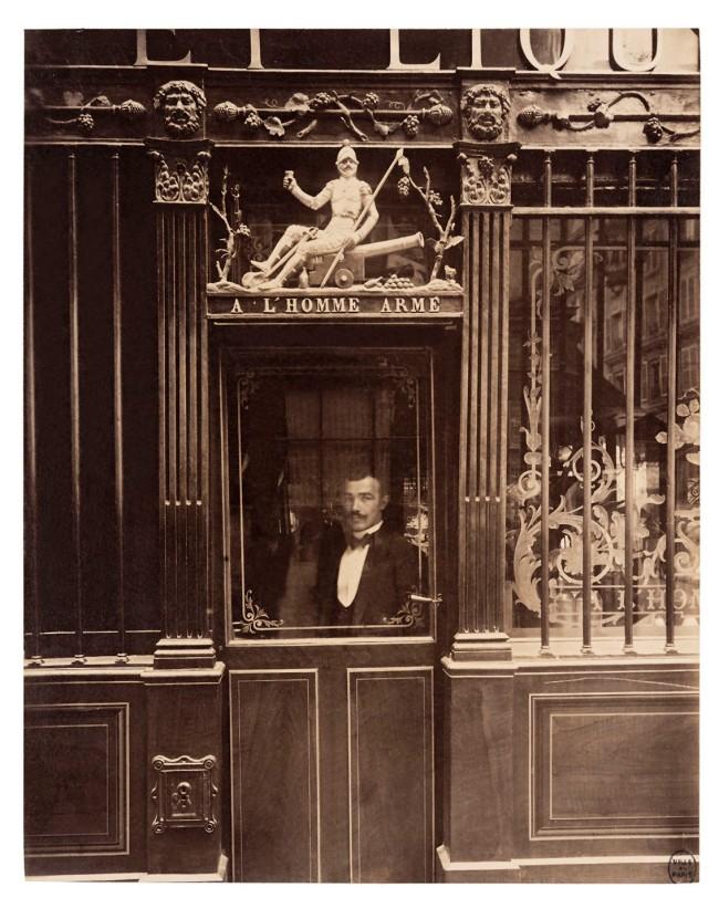 Eugène Atget (French, 1857-1927) 'Cabaret de l'Homme armé, 25, rue des Blancs-Manteaux, IVe' September 1900