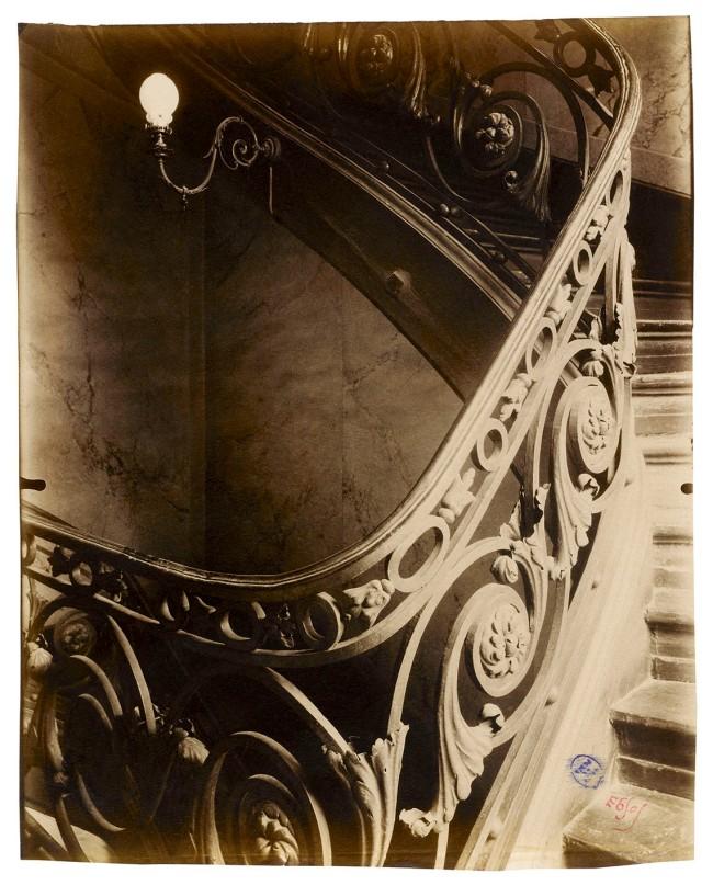 Eugène Atget (French, 1857-1927) 'Ancien hôtel Sully-Charost, 11, rue du Cherche-Midi, VIe' 1904