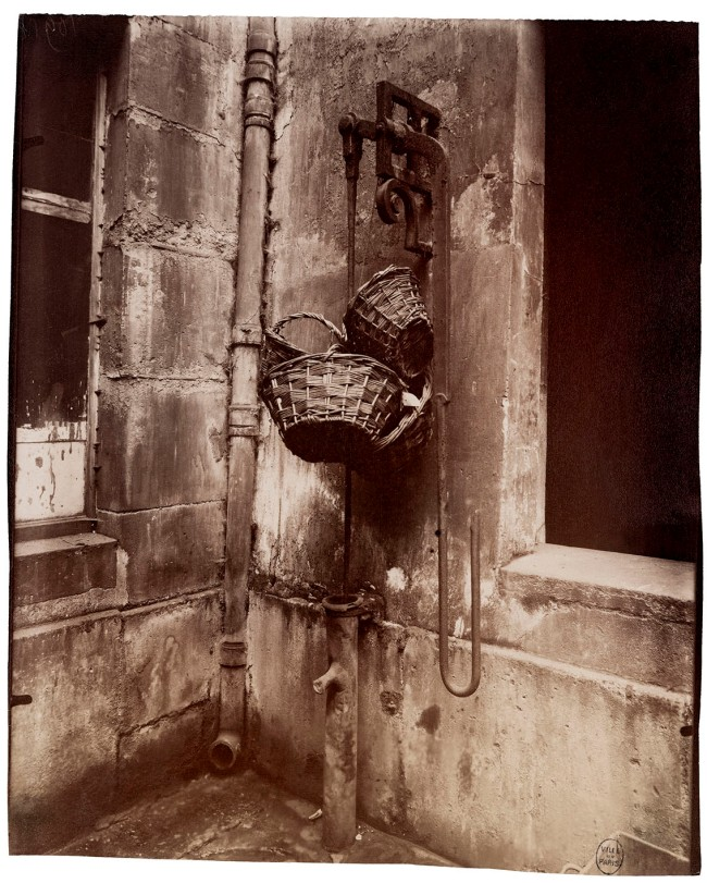 Eugène Atget (French, 1857-1927) 'Fontaine du passage des Singes, 6, rue des Guillemites, IVe' 1911