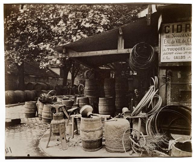 Eugène Atget (French, 1857-1927) 'Un coin de l'entrepôt de Bercy, rue Léopold, XIIe' 1913