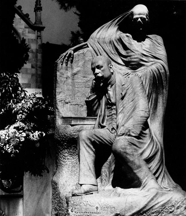 Bill Brandt (British, born Germany 1904-1983) 'Death and the industrialist, Barcelona' 1932