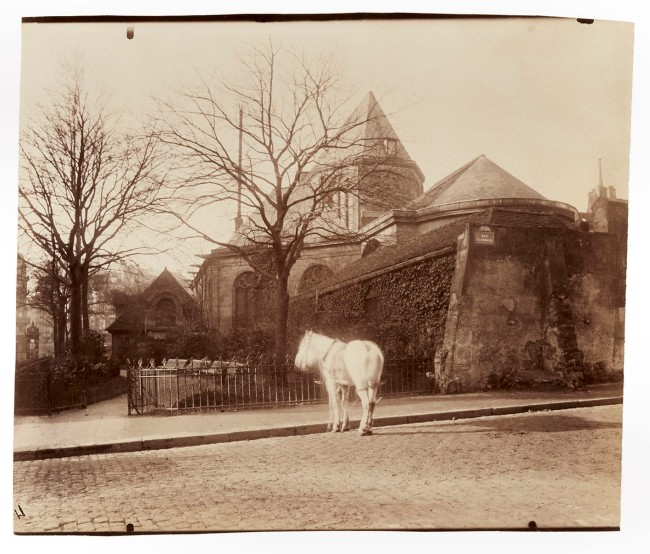 Eugène Atget (French, 1857-1927) 'Église Saint-Médard, Ve' 1900-1901