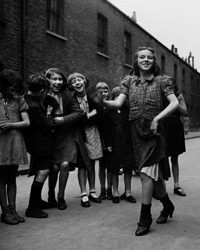Bill Brandt (British, born Germany 1904-1983) 'East End girl dancing the 'Lambeth Walk'' March 1939