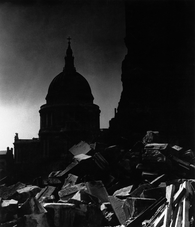 Bill Brandt (British, born Germany 1904-1983) 'St. Paul's Cathedral in the moonlight' 1942