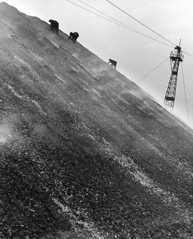 Bill Brandt (British, born Germany 1904-1983) 'East Durham coal-searchers' 1937