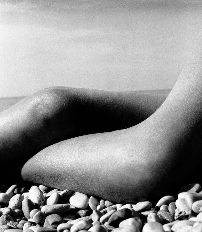 Bill Brandt (British, born Germany 1904-1983) 'Nude, Baie des Anges, France' 1959