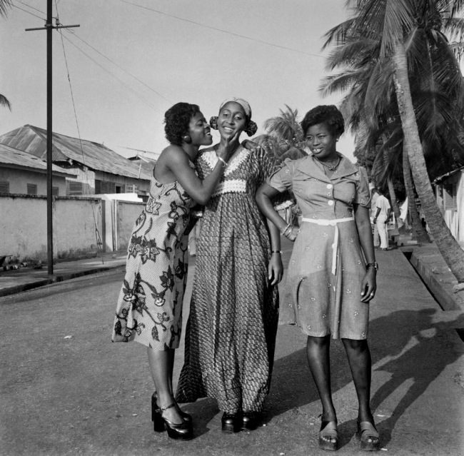 James Barnor (Ghanian, b. 1929) 'Family members at the occasion of the engagement of James' cousin. Amanomo, Accra' Late 1970s