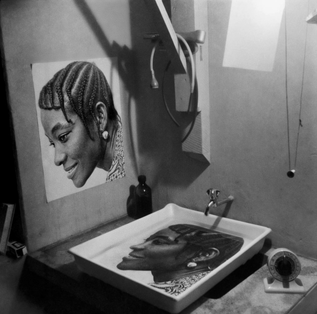 James Barnor (Ghanian, b. 1929) 'Print in progress, Studio X23. Accra' 1972
