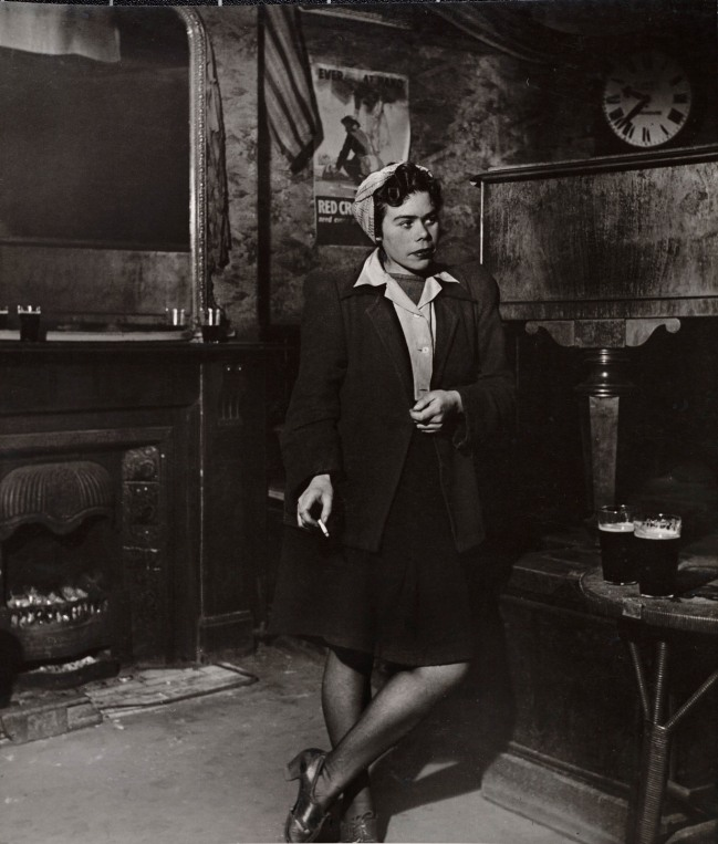 Bill Brandt (British, born Germany 1904-1983) 'At Charlie Brown's, Limehouse' 1945/1946
