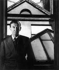 Bill Brandt (British, born Germany 1904-1983) 'Graham Greene in his flat, St James's Street, London' 1948