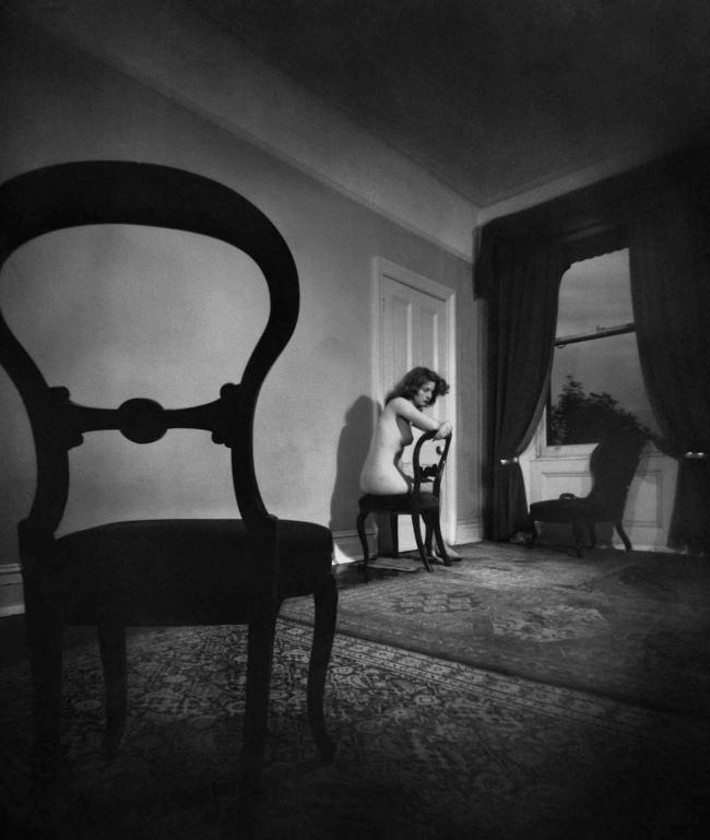 Bill Brandt (British, born Germany 1904-1983) 'Nude, Campden Hill, London' 1947