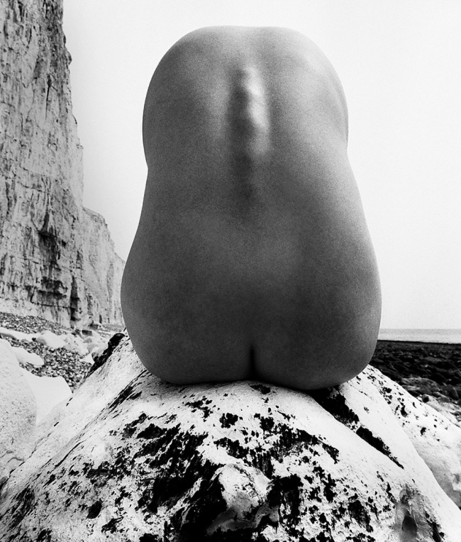 Bill Brandt (British, born Germany 1904-1983) 'Nude, East Sussex coast' 1977