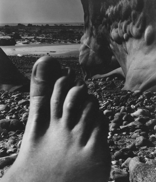 Bill Brandt (British, born Germany 1904-1983) 'Nude, Vasterival, Normandy' 1954
