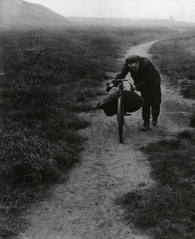 Bill Brandt (British, born Germany 1904-1983) 'Unemployed miner returning home from Jarrow' 1937