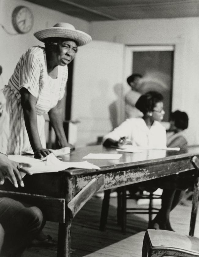 Doris Derby (American, b. 1939) 'Grass Roots Organizer, Mississippi' 1968