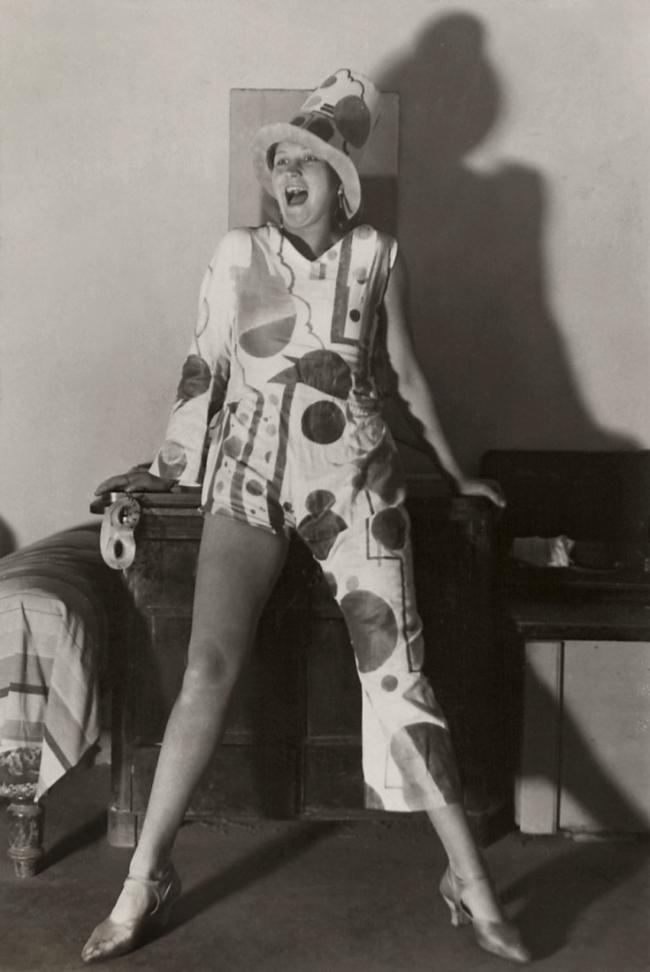 Friedrich Seidenstücker(1882-1966) 'Faschingsfigur' (Carnival figure) 1925