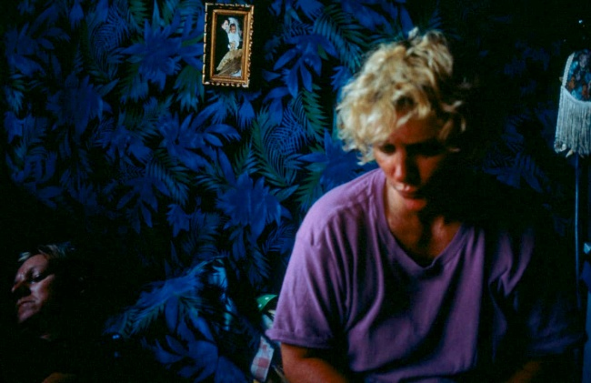 Nan Goldin (American, b. 1953) 'Cookie and Sharon on the Bed, Provincetown, MA, Sept. 1989' 1989
