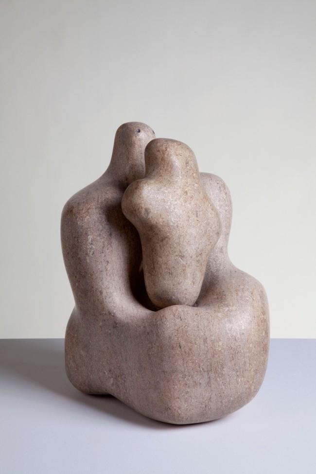 Barbara Hepworth (English, 1903-1975) 'Mother and Child' 1934