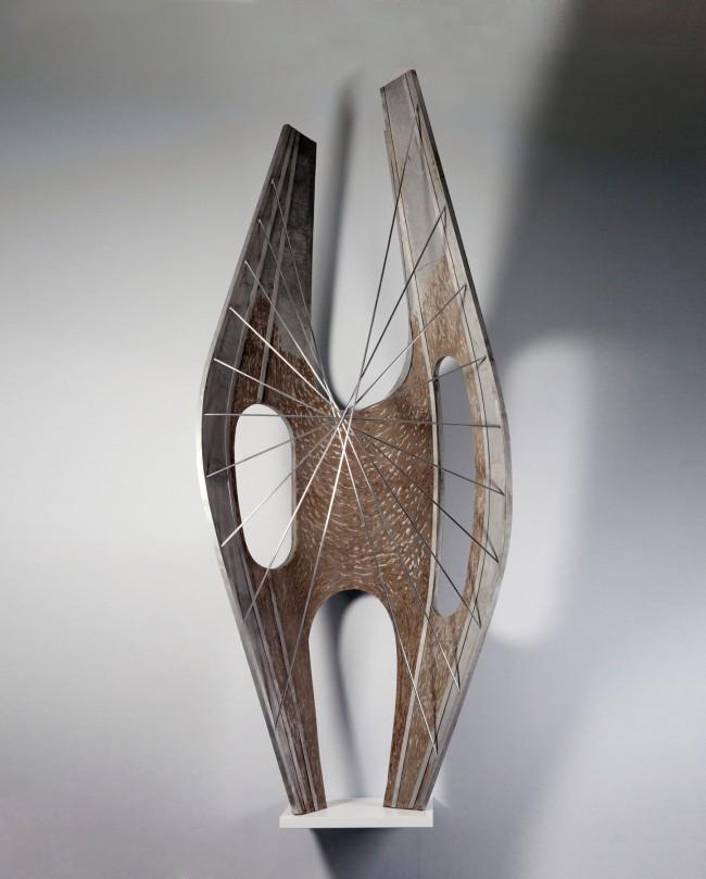 Barbara Hepworth (English, 1903-1975) 'Winged Figure' 1961-62
