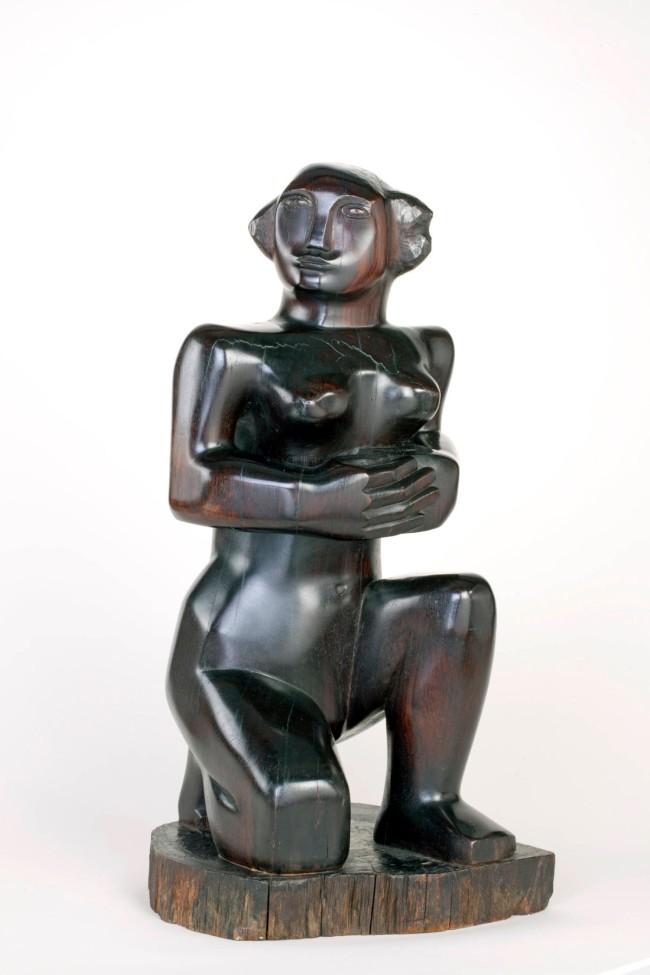 Barbara Hepworth (English, 1903-1975) 'Kneeling Figure' 1932