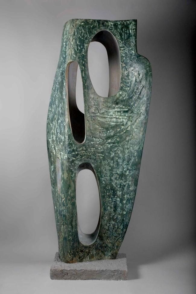 Barbara Hepworth (English, 1903-1975) 'Rock Form (Porthcurno)' 1964