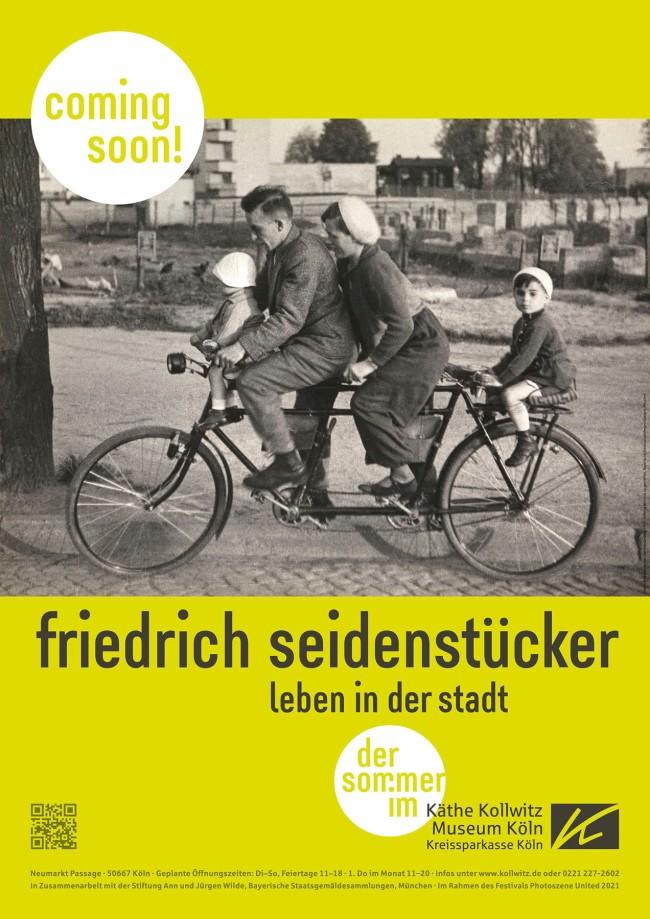 Seidenstücker poster for the special exhibition