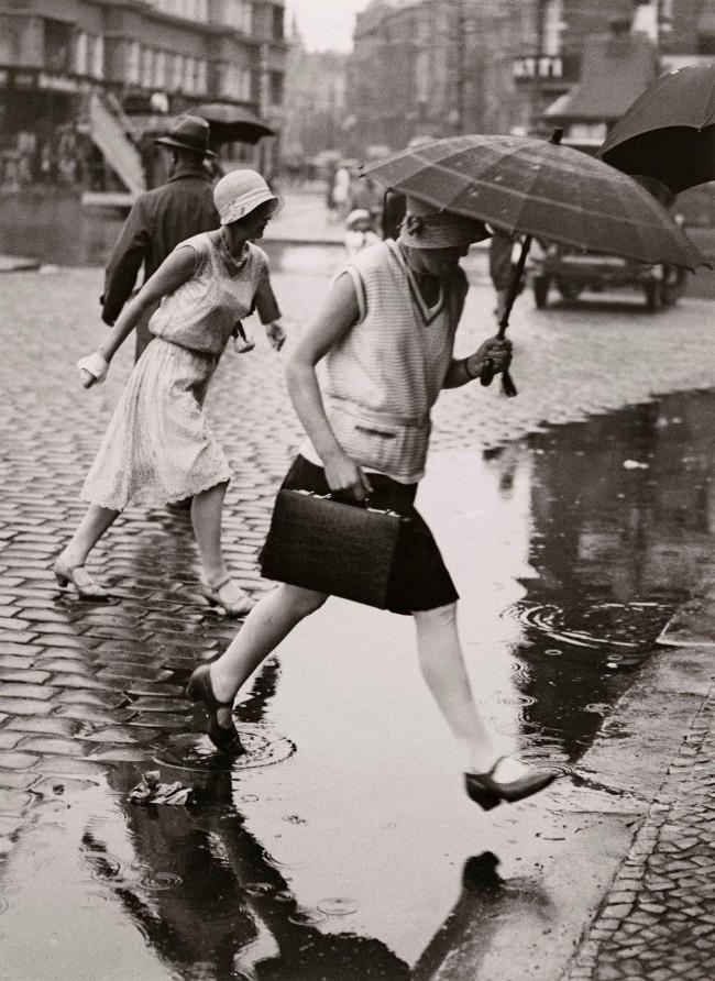 Friedrich Seidenstücker (German, 1882-1966) 'Puddle jumpers' 1925