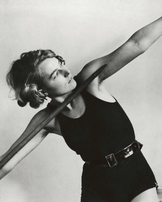 Friedrich Seidenstücker(1882-1966) 'Posing javelin thrower' 1932-1938