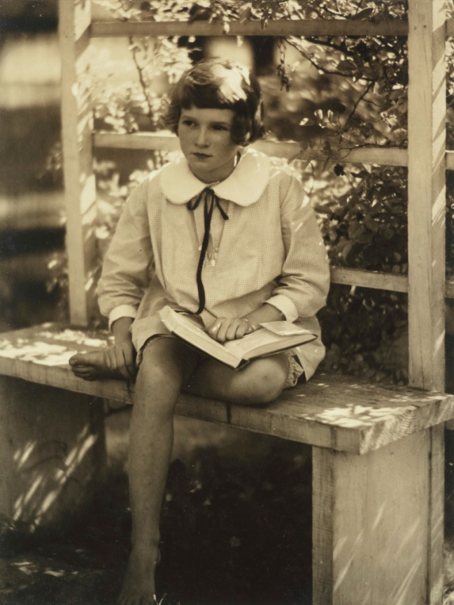 Doris Ulmann (American, 1884-1934) 'Studious Girl, Fleischman Relative' before 1931